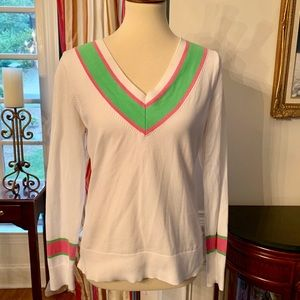 Lilly Pulitzer Medium V-Neck Sweater